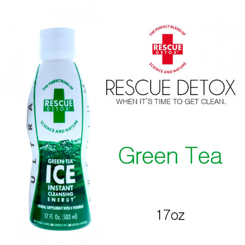Rescue Detox ICE Green Tea- 17oz