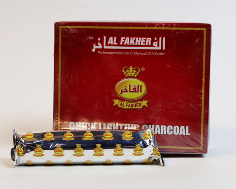 Al Fakher Small Quick-Light Coals - 33mm