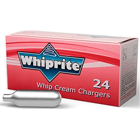 Whiprite Whip Cream Chargers - 24 Pack