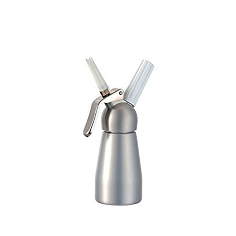 Whiprite Whip Cream Dispenser 1/2 Pint - Silver
