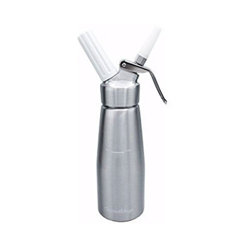 Whiprite Whip Cream Dispenser 1 Pint - Silver