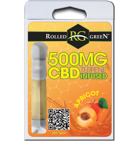 Rolled Green™ Tincture - APRICOT