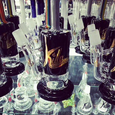 Killa Glass Single Turbine Perc 14mm