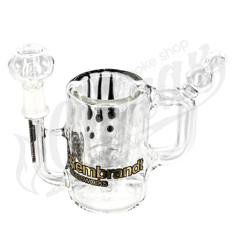 Rembrandt Glass Water Pipe Cup