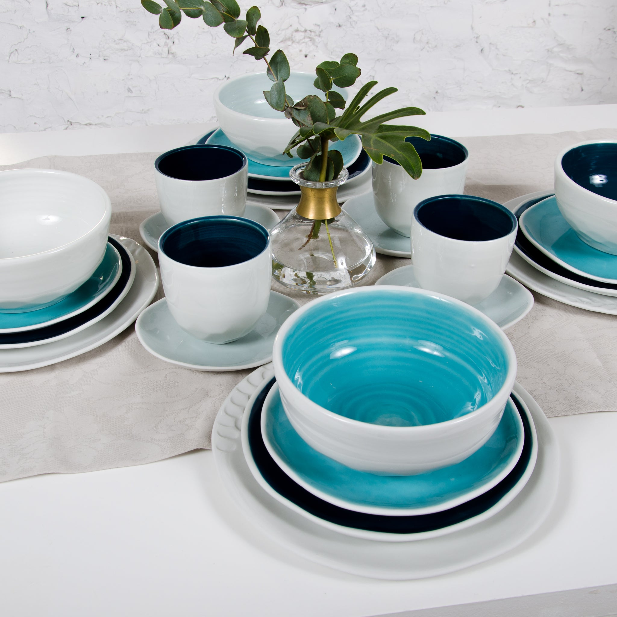 tableware four-person set