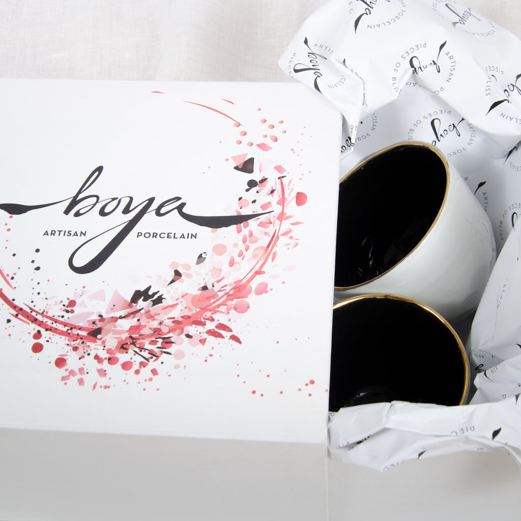 boya porcelain premium box packaging
