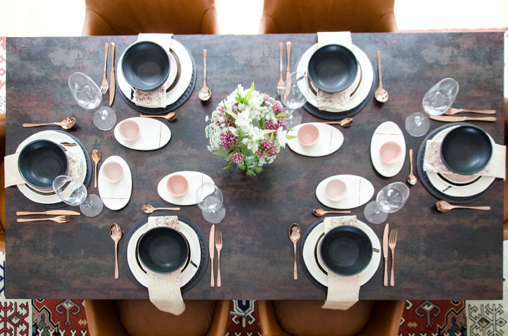 8 person tableware set