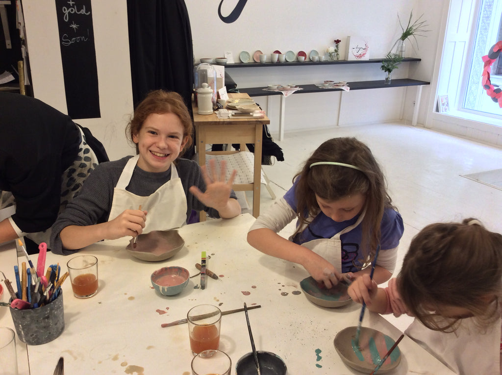 ceramic workshop kids parents boya porcelain