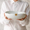 Blanche Bowl, four sizes in two variants bowl - artisan handmade porcelain wedding gift tableware Boya Porcelain  dinnerware