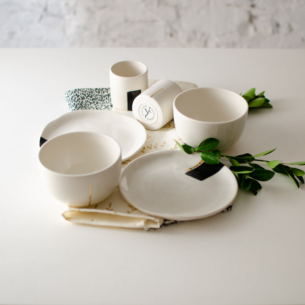 Moscata Breakfast Set Breakfast set - artisan handmade porcelain wedding gift tableware Boya Porcelain  dinnerware