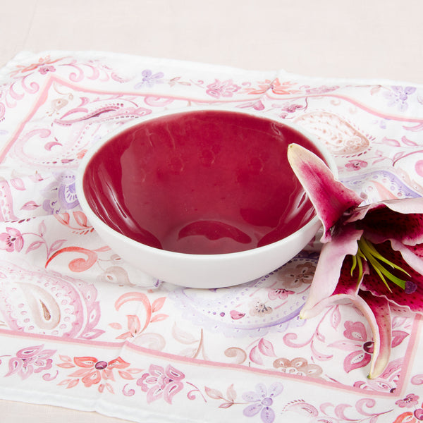 Marsala serving bowl bowl - artisan handmade porcelain wedding gift tableware Boya Porcelain  dinnerware