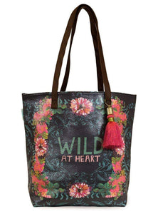 Wild at Heart Papaya! Tote - Candle Queen Candles
