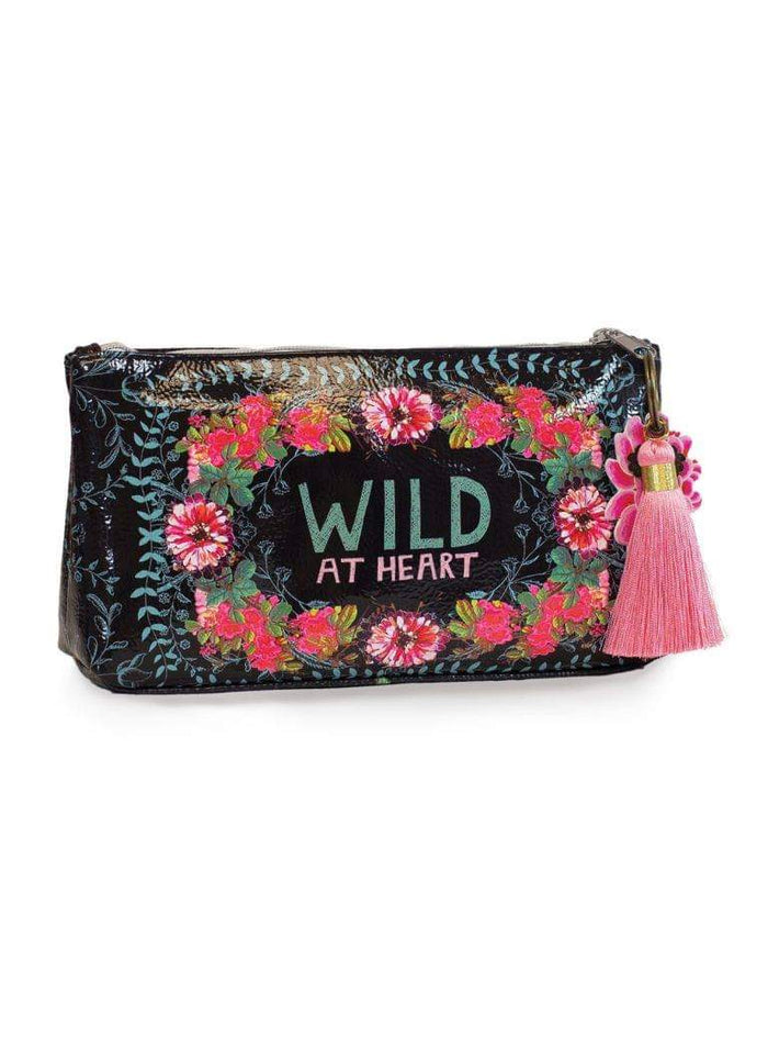 Wild at Heart Papaya! Makeup bag