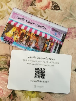 Gift Card - Candle Queen Candles