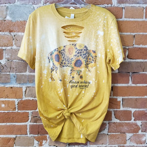 Sunflower Buffalo Tee