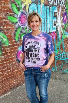 Country Music tee with Bling!