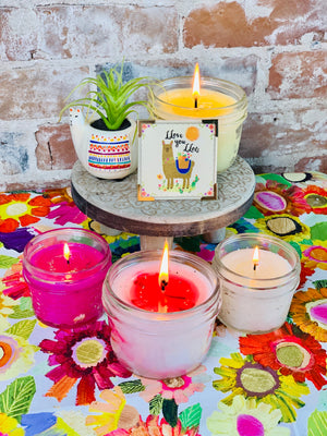 Unicorn OR Llama 6 piece Gift set - Candle Queen Candles