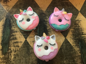 Donut unicorn  lip gloss - Candle Queen Candles