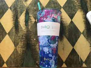 Swig 32oz tumbler artist speckle - Candle Queen Candles