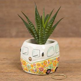 Van Faux Succulent - Candle Queen Candles