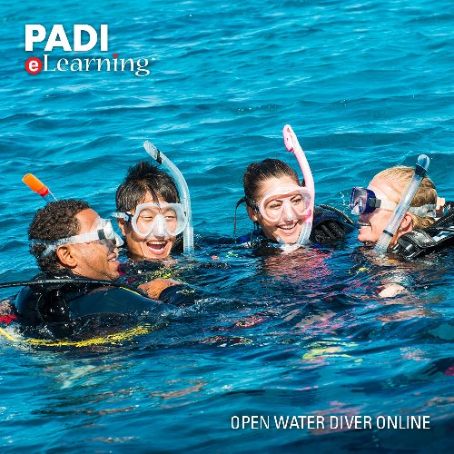ELearning Open Water - ENGLISH (Digital Certification Pak)