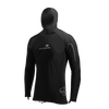 Men's Long-Sleeve Hooded Polytherm Top