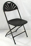 Black Fanback Chair