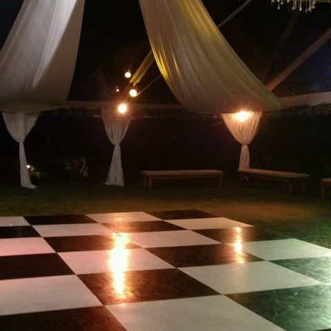 Dance Floor, Black & White