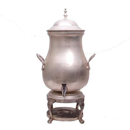 Coffee Urn, 50 Cup Silver
