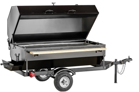 Towable Charcoal BBQ W/Hood