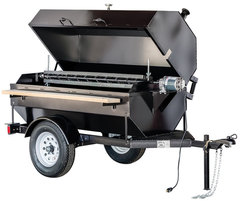 Towable BBQ Rotisserie Cage Attachment 60""