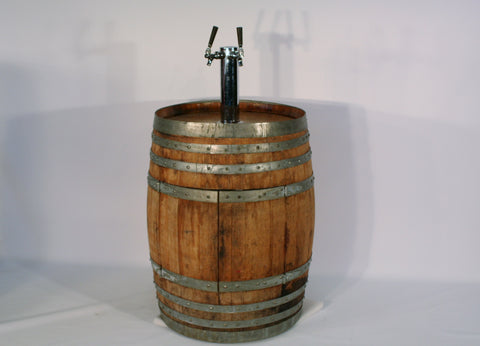 Rustic Wine Barrel Jockey box