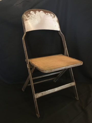 Antique Metal Chair