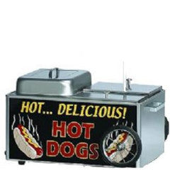 Hot Dog/Bun Steamer Cart