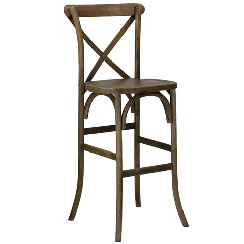 Cross Back Bistro Barstool