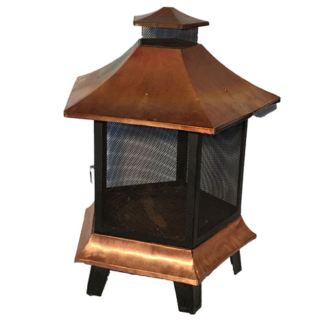 Fire Hut, Copper Caged