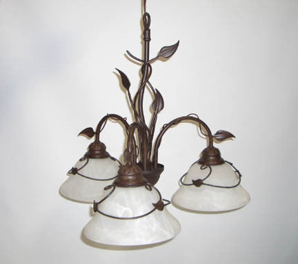 Chandelier, Antique Bronze