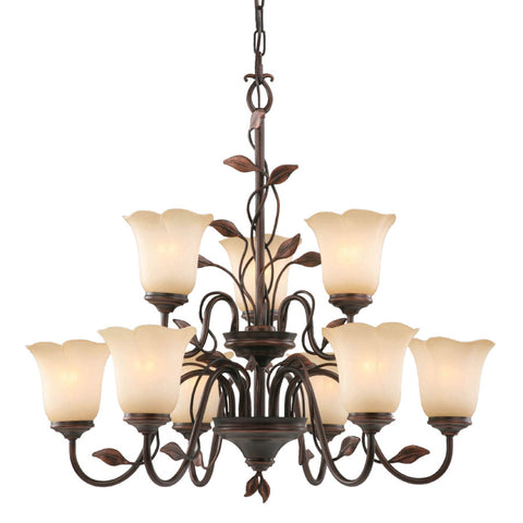 Chandelier, Oil-Rubbed Bronze