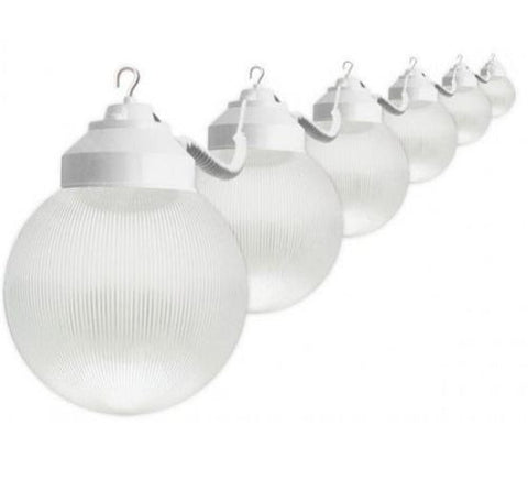 Globe Light, 8 White Light