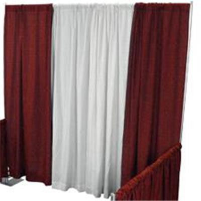 Pipe/Drape Curtains 4' X 8'