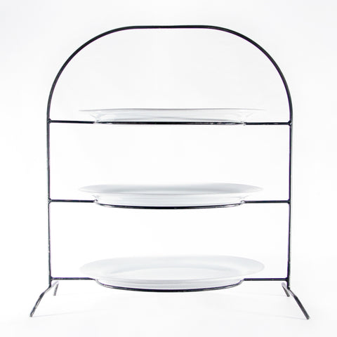 3-Tier, Iron Stand, 18""