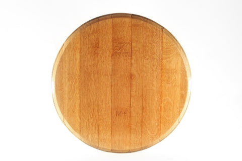 Lazy Susan, Rustic Barrel