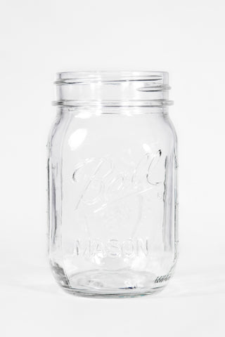 Mason Jar No Handle (25 Per Rack)