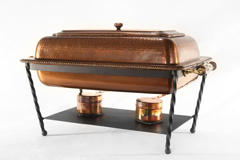 Chafer 8qt. Hammered Copper