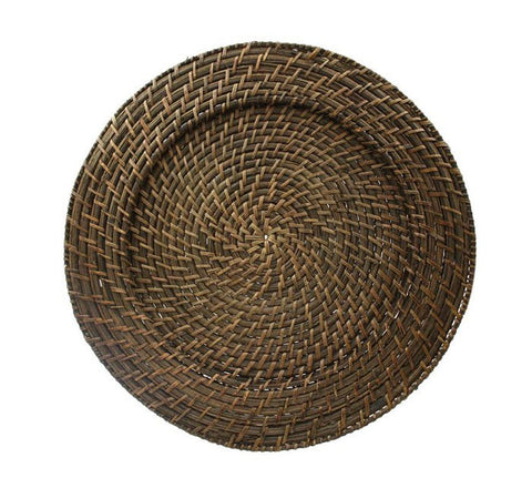 "13"" Rattan Charger"