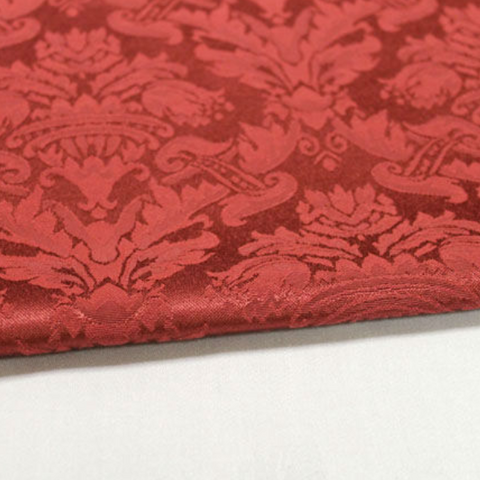 Damask Saxony Red