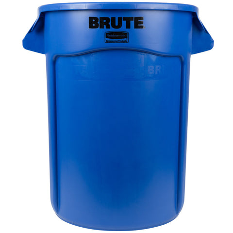 Garbage Can Blue