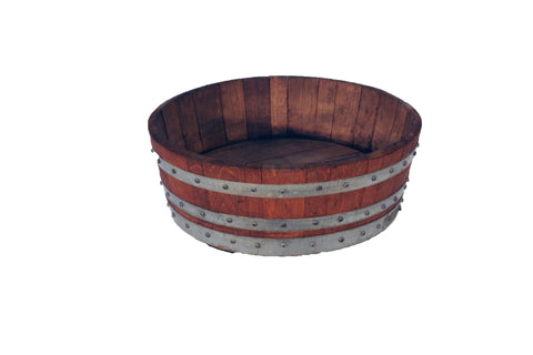 Tub, Fancy 1/2 Barrel