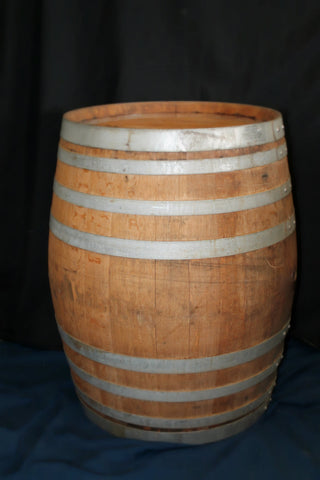 Rustic Wine Barrel