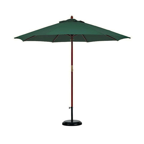 Umbrella, 7' Market Green